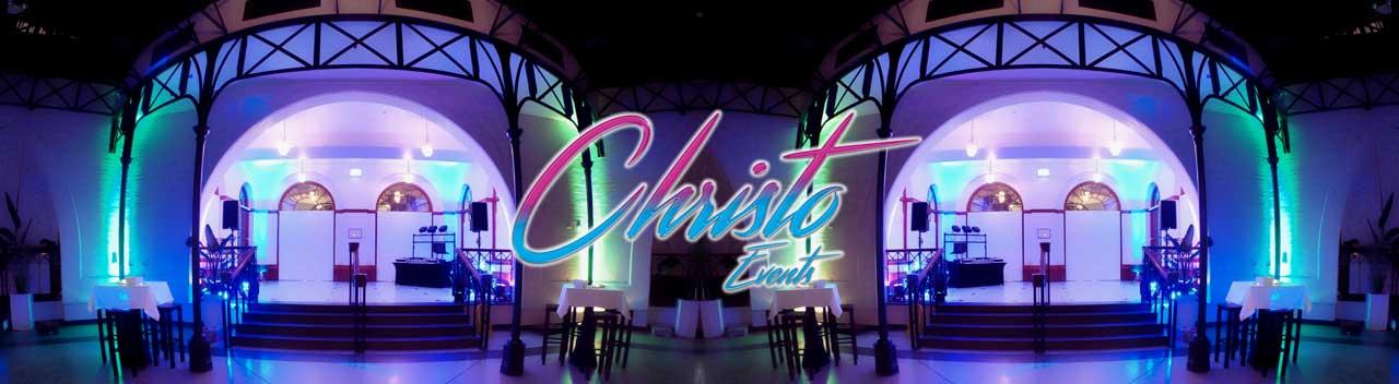 Christo Events Header Image